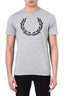 FRED PERRY Laurel logo t-shirt