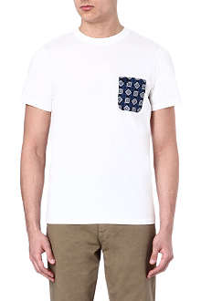 FRED PERRY Drakes pocket t-shirt