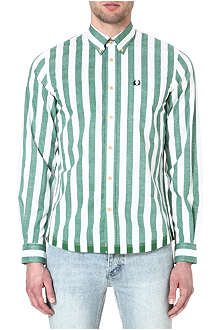 FRED PERRY Beach long-sleeved shirt