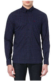 FRED PERRY Drakes graphic floral shirt
