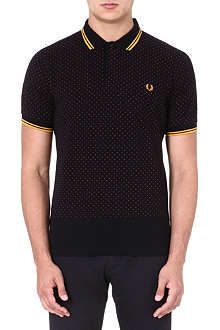 FRED PERRY Polka-dot polo shirt