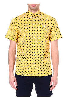 FRED PERRY Polka-dot short-sleeved shirt