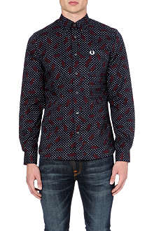 FRED PERRY Drake's Archive paisley shirt
