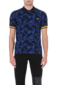FRED PERRY Classic camouflage polo shirt