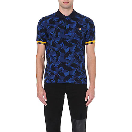 FRED PERRY Classic camouflage polo shirt (Regal