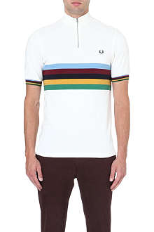 FRED PERRY Champion striped polo shirt