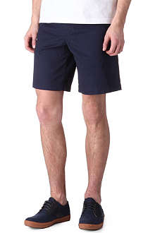 FRED PERRY Garment-dyed chino shorts