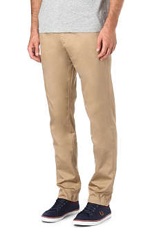 FRED PERRY Twill chino trousers