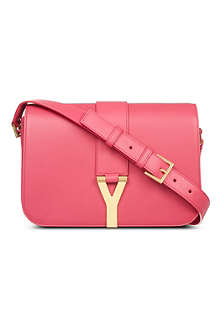 SAINT LAURENT Chyc front flap satchel