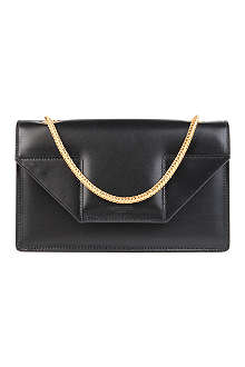 SAINT LAURENT Betty mini leather clutch
