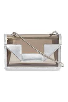 SAINT LAURENT Small transparent Betty satchel