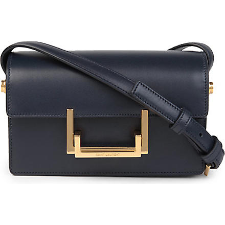 SAINT LAURENT Classic small Lulu leather shoulder bag (Marine