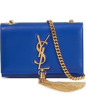 SAINT LAURENT Classic small Monogramme tassel shoulder bag