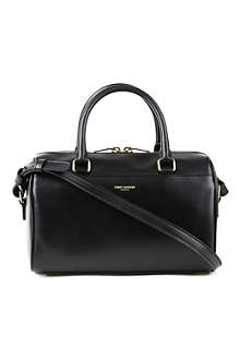 SAINT LAURENT Baby leather duffel bag