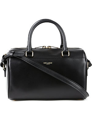 SAINT LAURENT Baby leather duffel bag