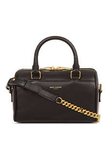 SAINT LAURENT Toy leather duffle bag