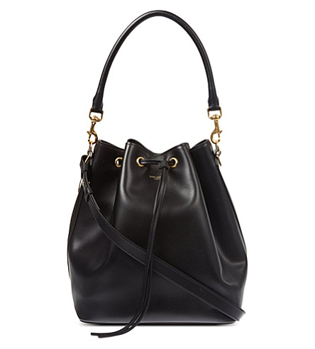 SAINT LAURENT Medium bucket bag (Black
