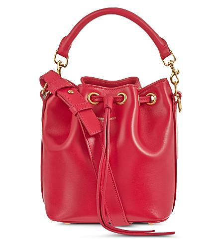 SAINT LAURENT Small bucket bag (Pink