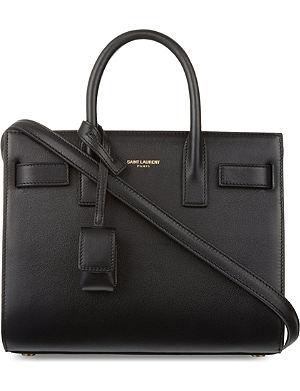 SAINT LAURENT Sac du Jour mini leather bag
