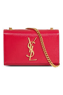 SAINT LAURENT Monogramme tassel cross-body bag