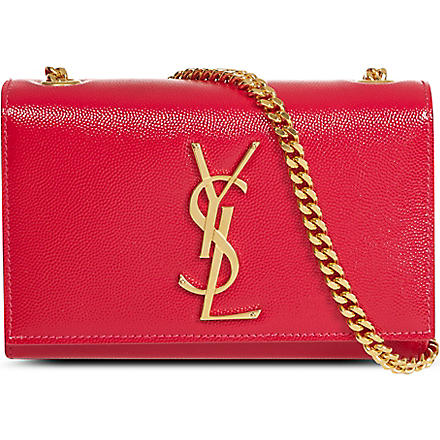 SAINT LAURENT Monogramme cross-body bag (Pink
