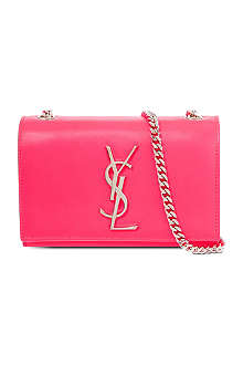 SAINT LAURENT Monogramme small leather cross-body bag