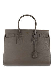 SAINT LAURENT Sac du Jour medium grained leather