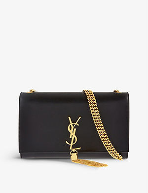 SAINT LAURENT Monogramme medium leather shoulder bag