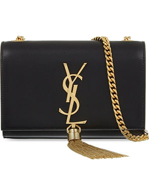 SAINT LAURENT Monogramme small leather shoulder bag