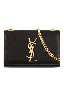 SAINT LAURENT Monogramme small chain cross-body bag