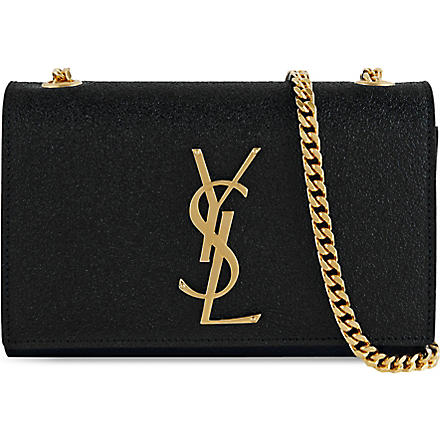 SAINT LAURENT Monogramme chain strap bag (Black