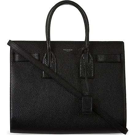 SAINT LAURENT Small Sac De Jour tote (Black