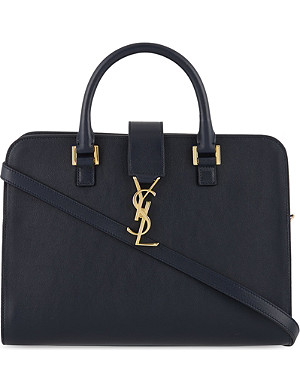 SAINT LAURENT Monogramme small Cabas box tote