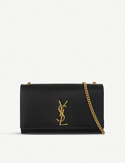 SAINT LAURENT Monogram medium leather shoulder bag 85d9c06be15e9