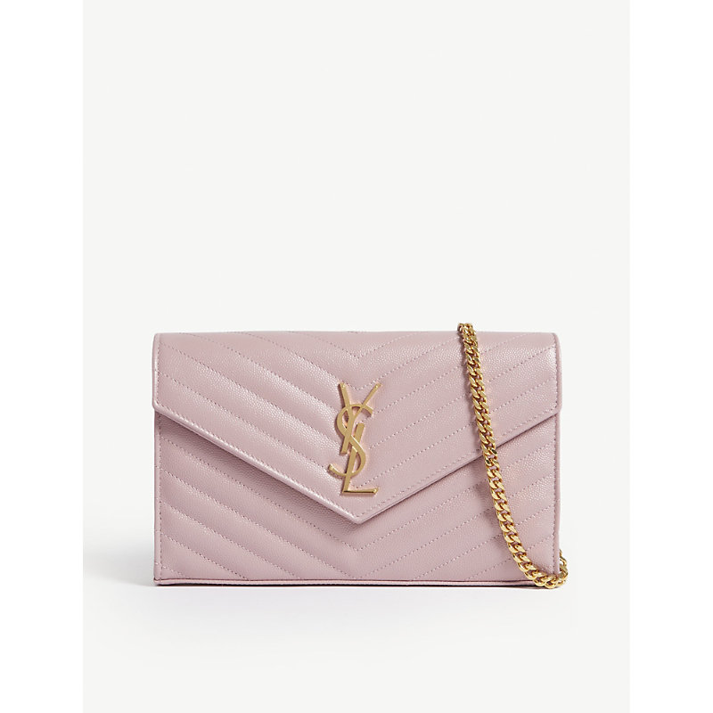 Monogram quilted leather cross-body bag