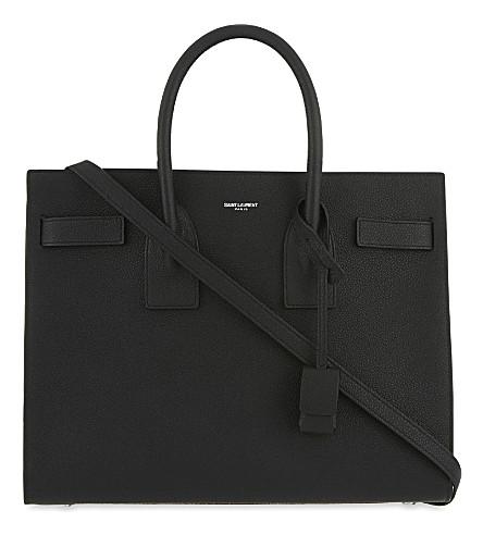 SAINT LAURENT Sac de Jour small leather tote (Noir