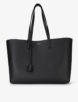 SAINT LAURENT Leather tote