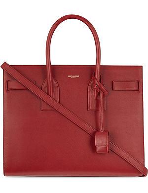 SAINT LAURENT Sac de Jour small leather shoulder bag