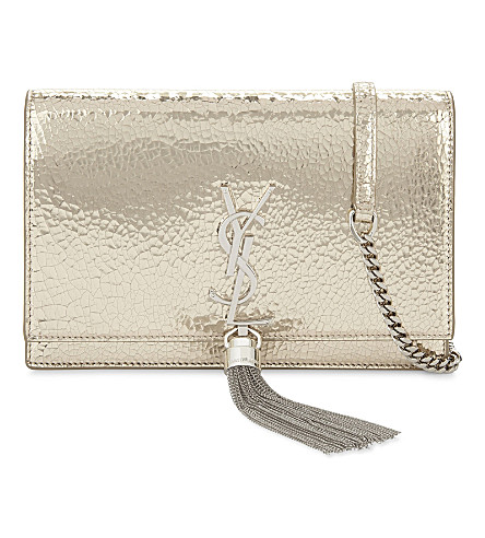 SAINT LAURENT Kate Tassel leather cross-body bag (Gold