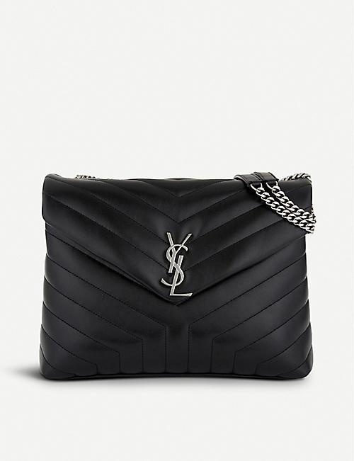 SAINT LAURENT Loulou Monogram medium quilted leather shoulder bag