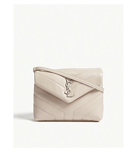 SAINT LAURENT Toy LouLou quilted leather shoulder bag (Washed+light+pink