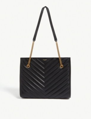Tribeca quilted leather shopper(8076113)