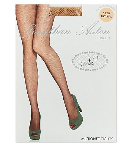 JONATHAN ASTON Micronet tights (Natural