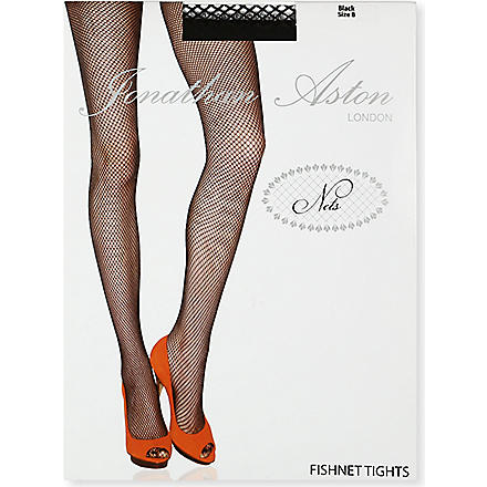JONATHAN ASTON Fishnet tights (Black