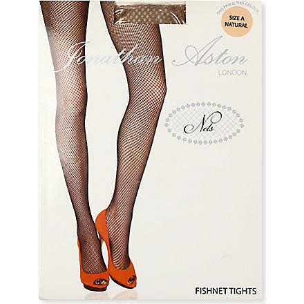 JONATHAN ASTON Fishnet tights (Natural