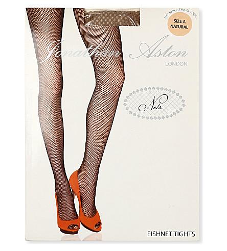 JONATHAN ASTON Fishnet tights (Natural