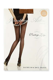 JONATHAN ASTON Lycra seam heel tights