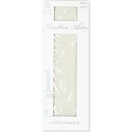 JONATHAN ASTON Colour Palette 15 denier tights (Silver