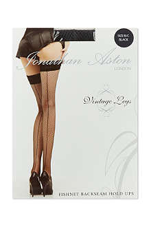 JONATHAN ASTON Fishnet backseam hold-ups