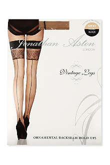 JONATHAN ASTON Ornamental backseam hold ups